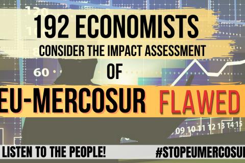 Open Letter regarding the economic impacts of the EU-Mercosur agreement