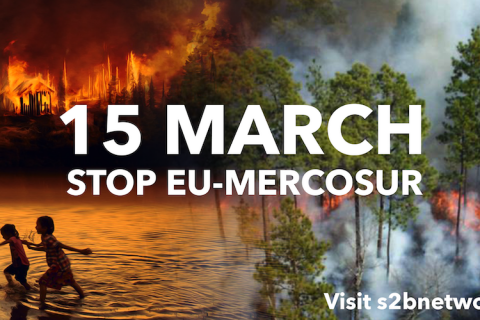 15 March – Launch of the Stop EU-Mercosur Coalition