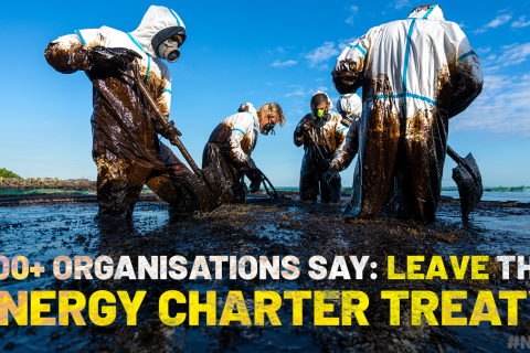 More than 400 Civil Society Organisations say: Leave the ECT by COP26