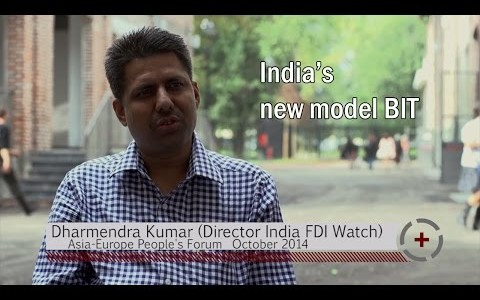 Dharmendra Kumar (Director India FDI Watch): India's new model BIT