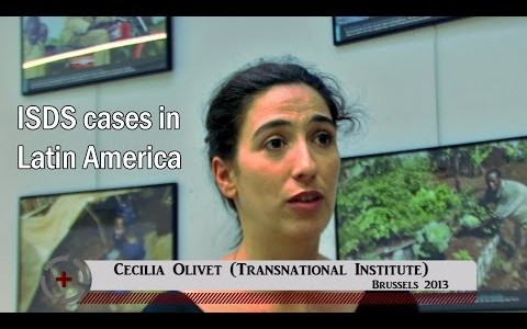 Cecilia Olivet (Transnational Institute): ISDS cases in Latin America