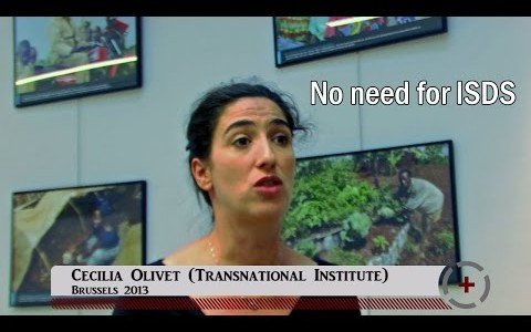Cecilia Olivet (Transnational Institute): No need for ISDS